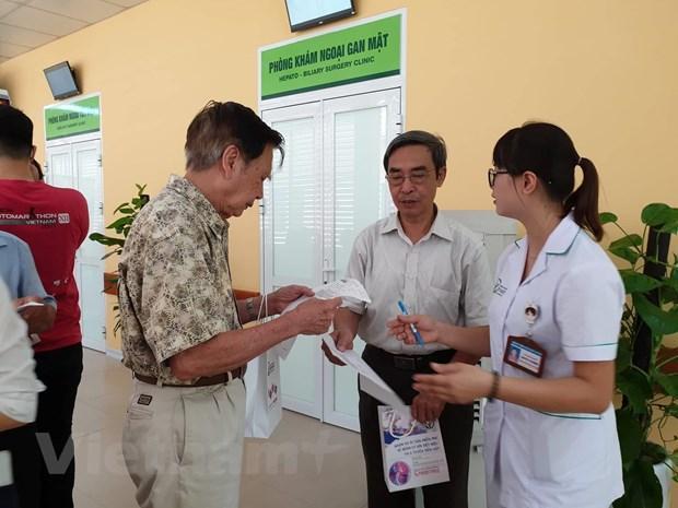 Mỗi người dân sẽ có một mã định danh y tế (ID) duy nhất và tồn tại suốt đời. (Ảnh: T.G/Vietnam+)